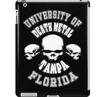 University of Death Metal iPad Case/Skin