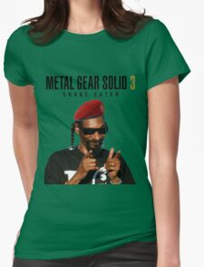 Snoop Eater Womens Fitted T-Shirt