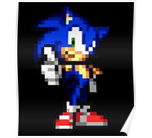 Sonic The Hedgehog Sprite Poster