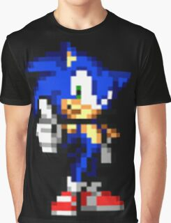 Sonic The Hedgehog Sprite Graphic T-Shirt
