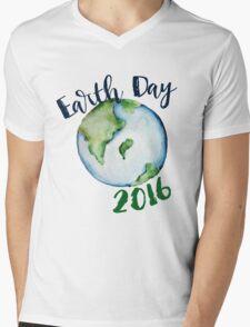Earth Day 2016 Mens V-Neck T-Shirt