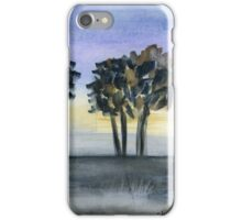 Abstract Trees - Watercolor Painting iPhone Case/Skin