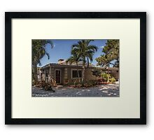 The Bungalow on Siesta Key  Framed Print