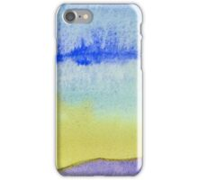 Abstract of a Landscape - Watercolor painting iPhone Case/Skin