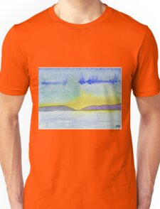 Abstract of a Landscape - Watercolor painting Unisex T-Shirt