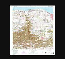 USGS TOPO Map Puerto Rico PR Camuy 362065 1972 20000 Unisex T-Shirt