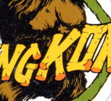 Vintage King Kong Pulp Movie decal Sticker