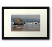 Rocks on Sango Bay Framed Print