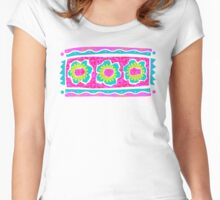 Primitive Tropical Floral Trio Women's Fitted Scoop T-Shirt