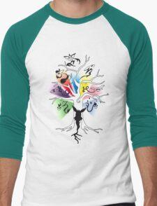 Tree of Eevee Men's Baseball ¾ T-Shirt