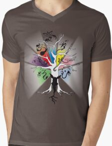 Tree of Eevee Mens V-Neck T-Shirt