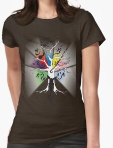 Tree of Eevee Womens Fitted T-Shirt