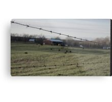 Freedom Fence Metal Print