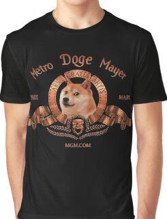 Metro Doge Mayer Movie Logo Graphic T-Shirt