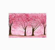 Cherry Trees - Watercolor Painting Unisex T-Shirt