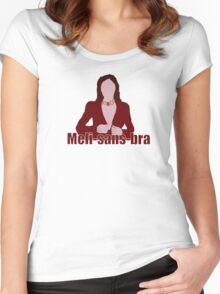 Meli-sans-bra Women's Fitted Scoop T-Shirt