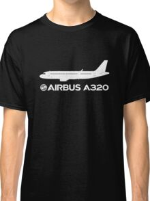 Airbus A320 Drawing Classic T-Shirt