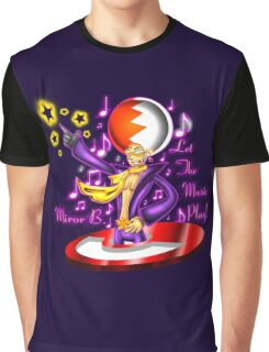 Let the Music Play! Graphic T-Shirt
