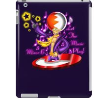 Let the Music Play! iPad Case/Skin