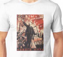 Soviet Poster: Советы и электрофикация есть основа нового мира Unisex T-Shirt