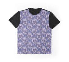 Blue Skulls Graphic T-Shirt