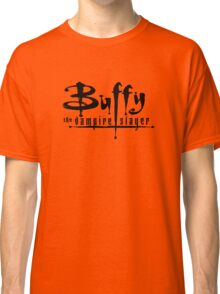 Buffy the Vampire Slayer chest level logo Classic T-Shirt