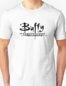 Buffy the Vampire Slayer chest level logo Unisex T-Shirt