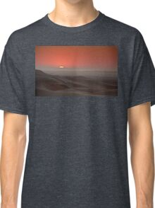 Awash in a sea of sleeping sand Classic T-Shirt