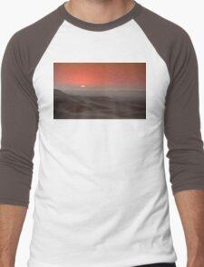 Awash in a sea of sleeping sand Men's Baseball ¾ T-Shirt