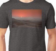 Awash in a sea of sleeping sand Unisex T-Shirt