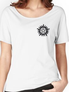 Anti-Possession Chest Tattoo Like Sam & Dean! Women's Relaxed Fit T-Shirt