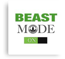 Herbalife Beast Mode On Unisex Canvas Print