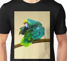 Yellow Crowned Parrot Unisex T-Shirt