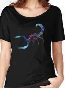 Scorpion Picture Fill Women's Relaxed Fit T-Shirt