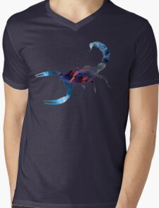 Scorpion Picture Fill Mens V-Neck T-Shirt