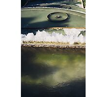 Fountain Closeup Photographic Print