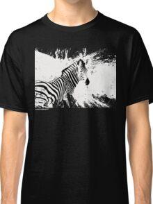 zebra love Classic T-Shirt