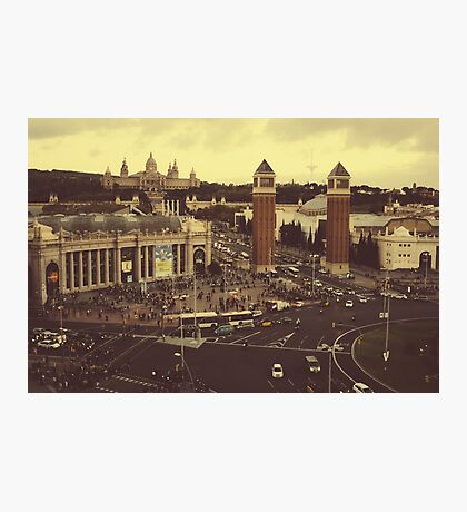 Placa d'Espanya Photographic Print