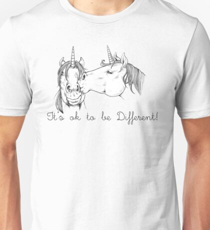 Unicorn love Unisex T-Shirt