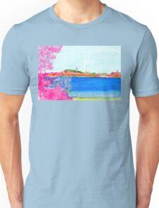 Washington Monument with Cherry Blossoms Unisex T-Shirt