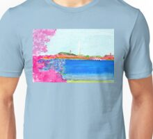 Washington Monument with Cherry Blossoms Unisex T-Shirt