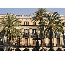 Placa Reial Photographic Print