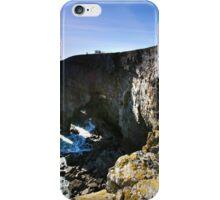 The Observation Deck, Elegug Stack,Pembrokeshire iPhone Case/Skin