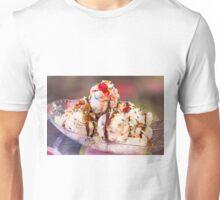 Who wants a banana split Unisex T-Shirt