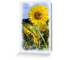 Thank You for Standing by me Greeting Card