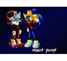 Mach Punk Photographic Print