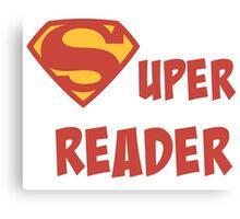 Super reader Canvas Print