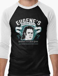 Eugene's Barber Shop Men's Baseball ¾ T-Shirt