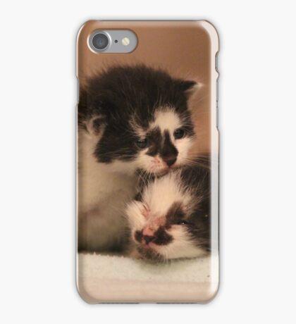 Two Little Kittens iPhone Case/Skin
