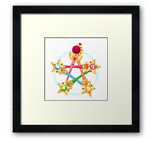 Sailor Wicca Framed Print